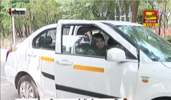 female cab driver delhi