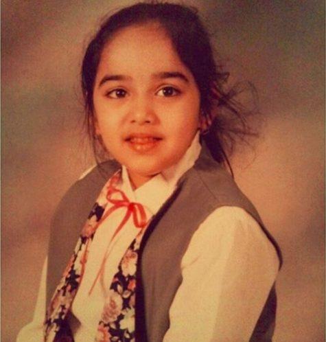 Childhood photo of Harnaam Kaur
