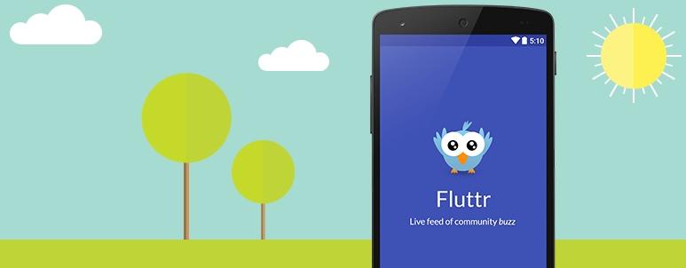 fluttr startup story