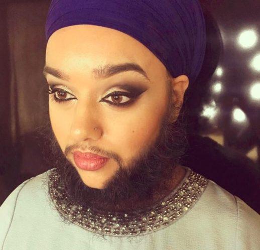 the beard lady Harnaam Kaur