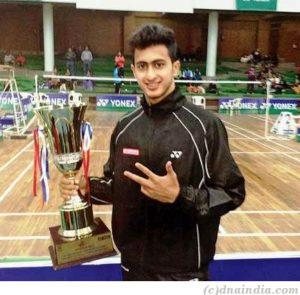 Aditya Joshi Badminton