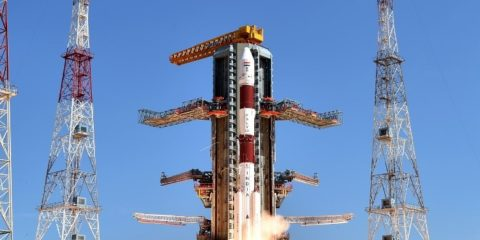 ISRO Lunches 20 Satellites