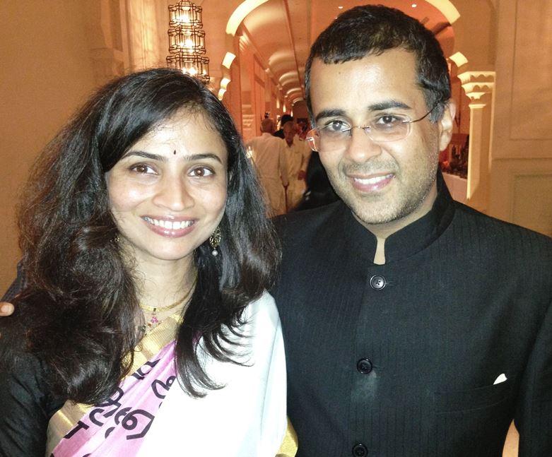Chetan Bhagat Wife Anusha Bhagat