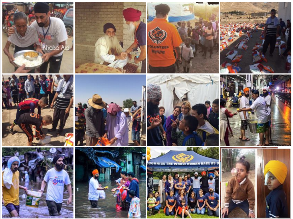 Khalsa Aid Projects
