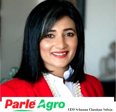 Schauna Chauhan Saluja CEO Parle Agro